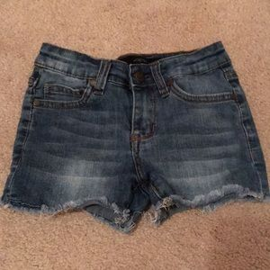 Little girls jean shorts